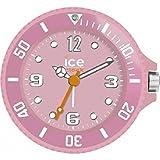Ice-Clock 90 mm Travel Alarm Clock, Pink