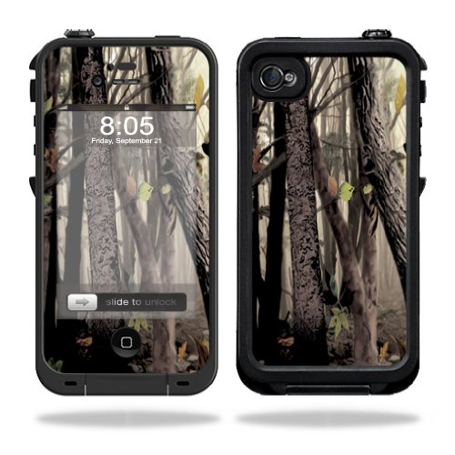 Mightyskins Protective Vinyl Skin Decal Cover for LifeProof iPhone 4 / 4S Case wrap sticker skins Tree Camo (Camo Iphone 4 Covers compare prices)