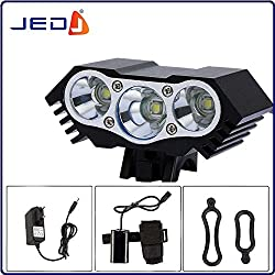 JED SolarStorm 10000Lm 3 x CREE T6 LED 4 Modes Bicycle Lamp Bike Light Headlight Cycling Torch