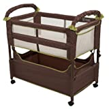 Arms Reach Concepts Clear-Vue Co-Sleeper, Cocoa/Fern