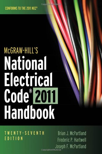 McGraw-Hill's National Electrical Code 2011 Handbook - McGraw-Hill Professional - 007174570X - ISBN:007174570X