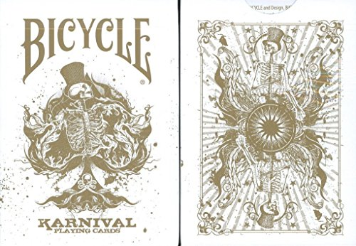 Bicycle Karnival Playing Cards in Gold Limited Edition - 1