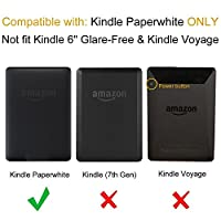 "Fintie Folio Case for Amazon Kindle Paperwhite and All- Kindle Paperwhite (6"" High Resolution Display with Next-Gen Built-in Light) Book Style with Auto Sleep/Wake Feature by Fintie"