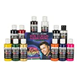 Createx Colors Primary Airbrush Set with