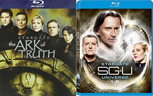 Stargate SGU- UNIVERSE 1.5 + The Ark of Truth 2 Pack Blu Ray Sci-Fi Set
