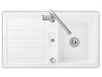 Villeroy & Boch Flavia Kuchesnpule 50 Edelweiss White Sink Ceramic Sink