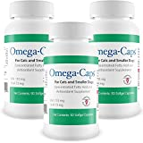 3Pack OmegaCaps For Cats Smaller Dogs (180 Softgel Capsules)