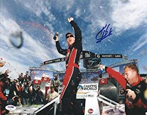 Kevin Harvick Autographed Photo - 11x14 #u70822 - PSA DNA Certified - Autographed... by Sports Memorabilia