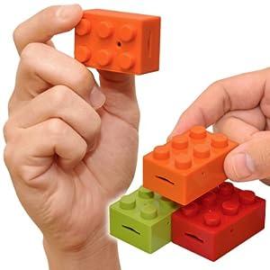 CHOBi CAM BLOCK ちょビッカム ブロック 小さなブロック型のトイデジカメ 【JTTオンラインショップ限定商品】 (オレンジ)