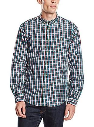 Springfield Camisa Hombre (Azul / Rojo / Verde)