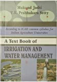 A Text Book of Irrigation and Water Management