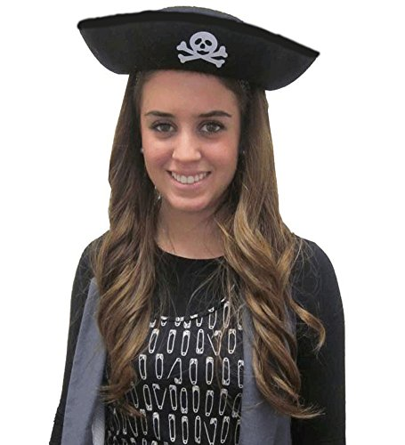 Felt Pirate Hat Adult Size