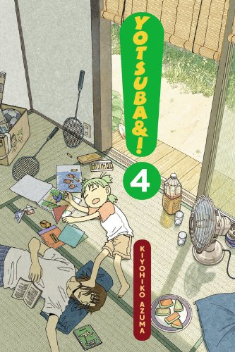 よつばと! 4巻(英語版)