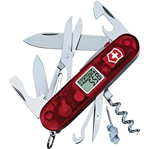 Victorinox Swiss Army Traveler Multitool (Ruby) by Victorinox