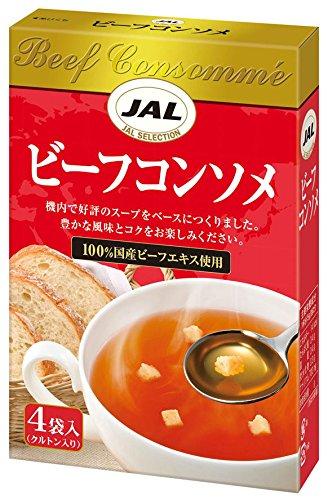 JAL ビーフコンソメ 4袋入×5個