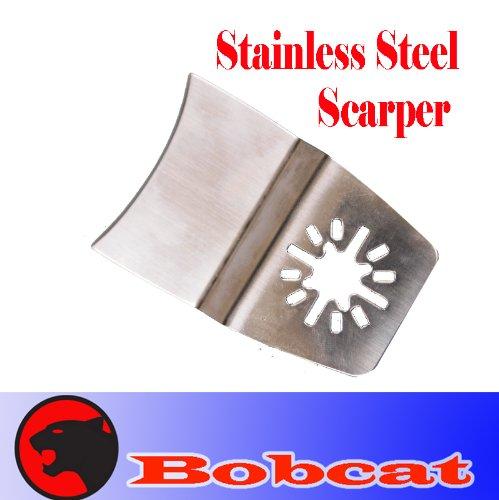 Stainless Steel Scraper Oscillating Multi Tool Saw Blade For Fein Multimaster Bosch Multi-X Craftsman Nextec Dremel Multi-Max Ridgid Dremel Chicago Proformax Blades