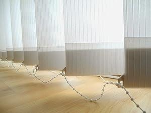 Sonnenschutz Vertikal Lamellen Vorhang 200 x 250 weiss    Kundenbewertung und weitere Informationen