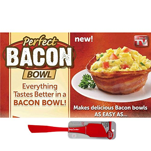 Perfect Bacon Bowl with FREE Spatula (Set of 3)