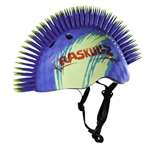 Raskullz Hawk Helmet (Blue, Ages 5+)