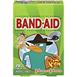 Band-Aid Disney Phineas and Ferb, Assorted, 20 Count