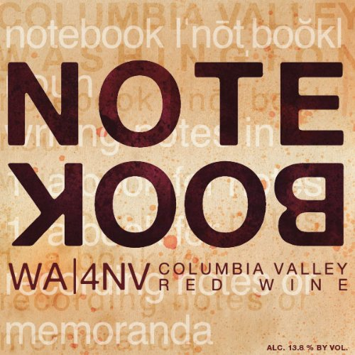 Notebook 4Nv Red Blend 750 Ml