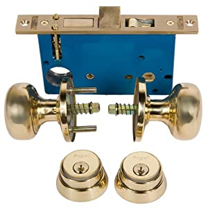 ANGAL IRON GATE MORTISE LOCKSET model:2009 - Door Lock Replacement