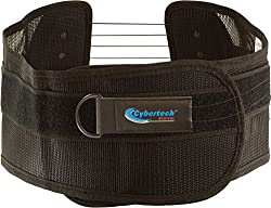 Roscoe Medical S. P. I. N. E. Brace BBSPINE-3540 Cybertech Spine Brace, Nylon, Large, Black
