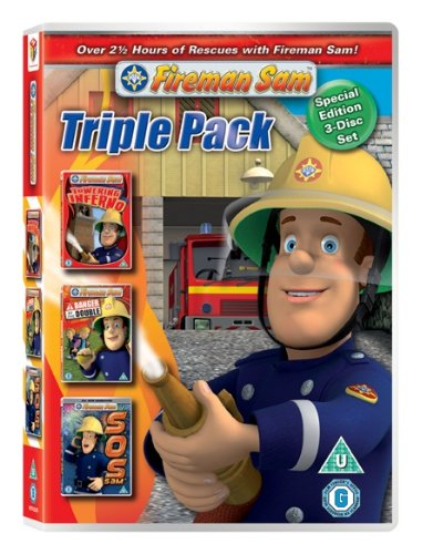 Fireman Sam - CGI triple pack Towering Inferno / Danger By The Double / S.O.S. Sam [DVD]