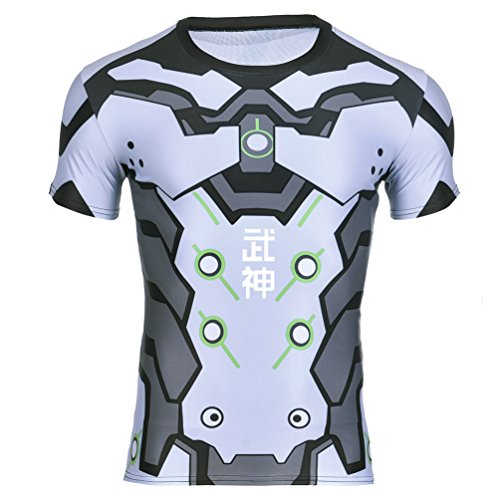 Mens Fitness Overwatch Armor T-shirt