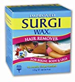 Surgi-wax Hair Remover For Bikini, Body & Legs, 4-Ounce Boxes (Pack of 3)