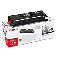 EP87BK (EP-87) Toner, 5000 Page-Yield, Black