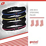 Running Belt with Reinforced zipper - Water resistant material protects items - 2 expandable pockets to bring your iPhone 4 or 5, keys, wallet - Heavy-duty buckle - 5 year Money-back guarantee