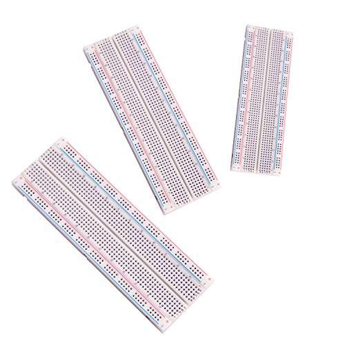 Elegoo-3pcs-MB-102-Breadboard-830-Point-Solderless-Prototype-PCB-Board-Kit-for-Arduino-Proto-Shield-Distribution-Connecting-Blocks