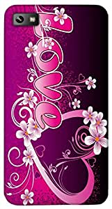 Timpax protective Armor Hard Bumper Back Case Cover. Multicolor printed on 3 Dimensional case with latest & finest graphic design art. Compatible with Black berry Z10 Design No : TDZ-27174