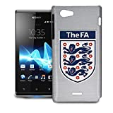 Phone Case For Sony Xperia J - World Cup England Team Football Soccer Snap-On Cover