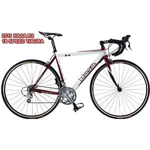 2011 HASA Carbon Fork Shimano Tiagra Road Bike 60cm