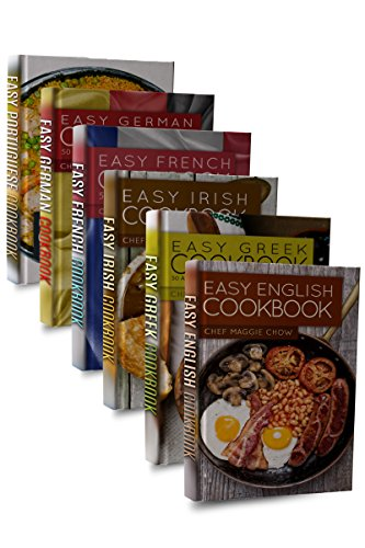 Easy European Cookbook Box Set: Easy English Cookbook, Easy Greek Cookbook, Easy French Cookbook, Easy Irish Cookbook, Easy German Cookbook, Easy Portuguese ... Portuguese Recipes, Irish Recipes 1) by Chef Maggie Chow