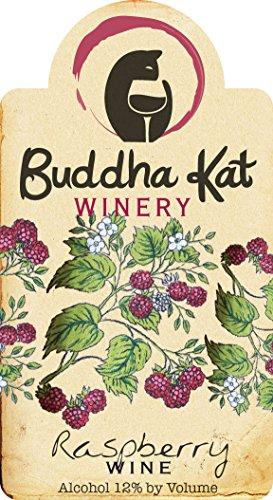 Nv Buddha Kat Winery Raspberry Wine 750 Ml