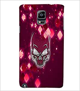 PrintDhaba Skull D-2971 Back Case Cover for SAMSUNG GALAXY NOTE 3 (Multi-Coloured)