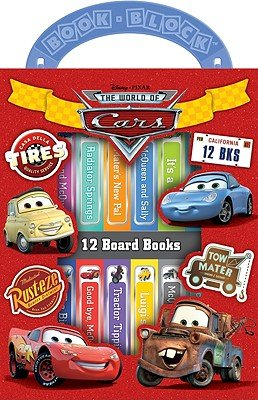 Disney Pixar the World of Cars   [BOXED-DISNEY PIXAR W-12V BOARD] [Boxed Set]