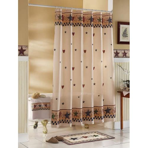 Country Style Curtains For Living Room Unique Shower Curtains