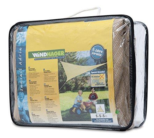 Windhager 10904 - Vela de sombra para patio