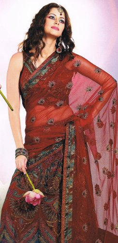 Burgundy Fashion Wedding Dress Skirt Style Lehnga