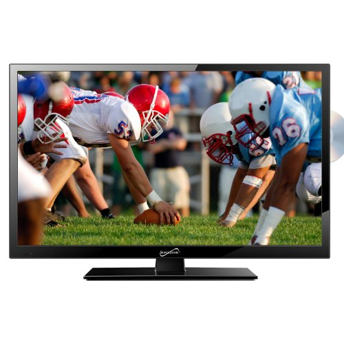 """Supersonic SC-2412 24"""" Widescreen LED HDTV with Built-In D"""