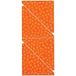 """AccuQuilt GO! Fabric Cutting Dies Half Square 4"""" Finished Trinagle 550-31"""