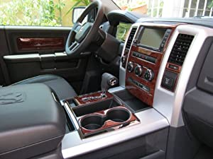 Dodge ram 1500 2500 3500 interior wood dash - 2010 dodge charger interior trim ...