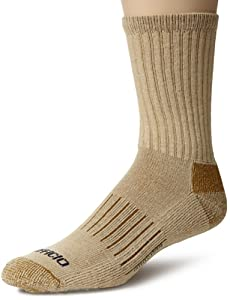 ExOfficio BugsAway Purdom Hiker Sock,Light Khaki,Medium