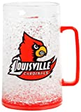NCAA Louisville Cardinals Monster Freezer Mug - 36 Ounce 4 Pack