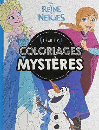 Coloriages mystères Reine des Neiges