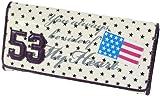 エナメルアメリカン カブセ長財布 サイフ さいふ 星条旗 レディース メンズ (E A-1001)